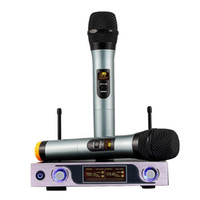 New Wireless Microphone System 2 Channel 2 Cordless Handheld...