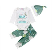 0- 18M Newborn Baby Kid Boy Girl Clothes set Cotton Bodysuit ...