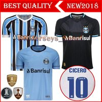 Best Quality 2018 Gremio Soccer Jersey 18 19 Gremio MILLER LUAN DOUGLAS  DIEGO HAILON Home Away third football shirts camisetas de futbol 7b2187eb8