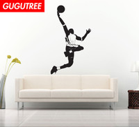Decorate Home basketball cartoon art wall sticker decoration...