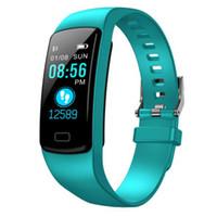 Hot Y9 Smart Watch Bluetooth Herzfrequenz Health Monitoring Schritt-Farbbildschirm Wasserdicht Informationen Push-Sport-Armband Erinnerung