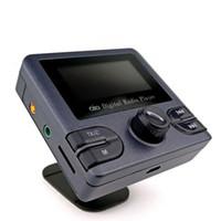 """Voiture DAB / DAB + Radio Numérique Portable Transmetteur FM Bluetooth 2.4 """"Ecran TFT Kits Auto - Lecteur MP3 de carte TF"""