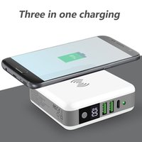 Multi- function Wireless Fast Charging Power bank Travel Char...