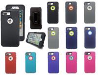 Casi del telefono del defensore antiurto del buffer del livello militare per iPhone 13 Pro Max 12Pro 11Pro XR XS X 8 7 6S PLUS Hybrid Robot Heavy Duty 3-in-1 con clip per cintura