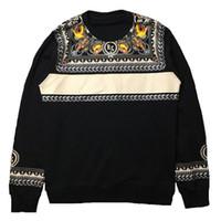 패션 남성 스타일 후드 남성 인쇄 스타일리스트는 남성 여성 고품질의 모든 경기 검은 색 긴 소매 스웨터를 weatshirts
