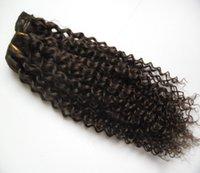 Encaracolado brasileiro crespo brasileiro encaracolado virgem tecer cabelo humano 1 pcsdouble qualidade de trama, nenhum derramamento, emaranhado livre