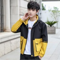 Autumn and winter new men' s fashion casual hooded jacke...