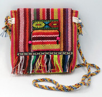 5pcs Embroidered Handbag Ethnic Style shoulder bags Tribal T...