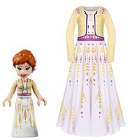 Retail 2020 New kids dress snow queen dresses girls christma...