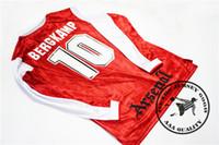 1994 홈 bergkamp # 10 wright # 8 platt # 7 hillier # 18 adams # 6 dixon # 2 copenhagen # 94 schwarz # 15 오래된 축구 유니폼 복고풍 셔츠