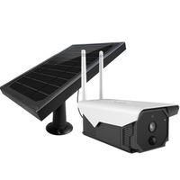 تعمل بالطاقة الشمسية واي فاي 4G اللاسلكية 1080P كاميرا IP IP66 للرؤية الليلية شرطة التدخل السريع في الهواء الطلق الأمن مع لوحة للطاقة الشمسية
