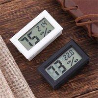 Электронный беспроводной ЖК-дисплей Цифровой термометр в помещении Гигрометр Mini Температурный счетчик Влажность Домой Измерительный инструмент DHL Бесплатная Доставка