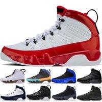 9 9s Jumpman Chegam novas 9 homens tênis de basquete 9 s branco vermelho OG espaço jam UNC Sonho Do It Do Mop Melo antracite calçados esportivos tênis