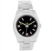 8 стиль 05 мужские часы 36 мм из нержавеющей стали часы 116900 77080 114200 116000 114200 114210 Air King Механические наручные часы