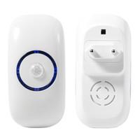 New UE US Plug Availble Body détecteur de mouvement nuit claire mouvement d'éclairage couloir capteur Armoire de lampe Lumières de lumière intérieure