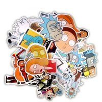 35Pcs bag American Drama Rick and Morty Funny Sticker Decal ...