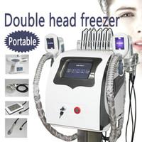 Cryolipolyse Fetteinfrieren Abnehmen Maschine Kryotherapie Ultraschall HF-Liposuktion Lipo-Laser-Maschine 2 Fat Freezing-Griffe Arbeit