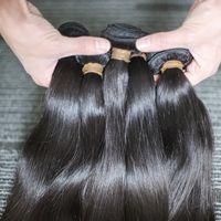 BeautyStarquality High Cauretity Полная кутикула выровнена сырцовые волосы Viror Braziian прямые тела волнистые перуанские реальные человеческие волосы Expenstions