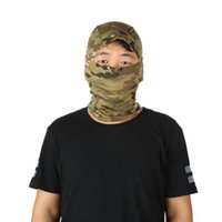 Unisex Tactical Headscarf Combat Scarf Hunting Face Mask Ski...