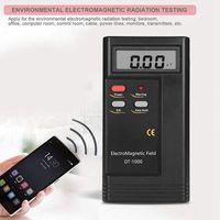 Freeshipping Dt-1000 Detector de radiación de campo electromagnético Medidor de banda ancha de prueba Lcd
