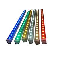 36W LED 3000K Wall Washer, Branco Linear Light Strip, IP65 impermeável LED Outdoor Wall Washer luzes para a paisagem, Igreja, anúncios, Quintal, Jardim