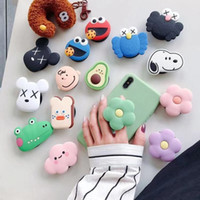 3D cartoon mobile phone holder foldable with fingers for iph...