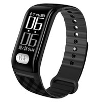 H777plus Smart Armband Band 0,96 zoll OLED IP67 Wasserdichte Pulsmesser EKG (EKG) Monitor Atemtraining Smart Uhr (