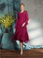 Tea längd Mor av brudklänningarna för bröllop med bolerojacka plus storlek spets mammor klär billig kvällsklänningar