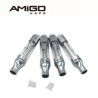 Liberty Amigo V1 V5 V6 V7 V8 V9 Vape Kalem Kartuşları Buharlaştırıcı tankları Seramik / Wick Bobin Amigo Kalın Yağı 510 E-Sigara Atomizörlerin boşaltın