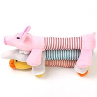 Juguetes de peluche para perros Cachorros Juguete para mascotas Mastica Squucky Duck Elephant Estilos múltiples populares Lovely 3 9lc F1