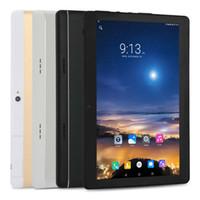 "Android 4.4 10.1 ""1280 * 800 KT107 2G / 3G Cep Telefonu Çift Sim Tablet PC MTK6582 Dört Çekirdekli Android 4.4 Çift Kameralar 1g RAM 16G ROM"