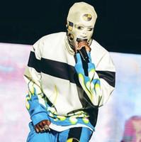 Aghge Testing Robot Masker Asap Rocky Hip Hop Hoofddeksels Mode Outdoor Party Mask Mode Street Hats