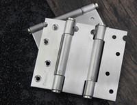 Roestvrijstalen veerscharnier gesloten deurscharnier met automatische sluiting onzichtbare deur dichterbij twee-weg deuropening 002-39