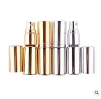2020 heißen Verkauf 5 ml Glas Sprühflasche Galvanik UV Beschattung Parfüm, abgefüllt Reise Make-up Wasser, tragbare Presse Flasche.