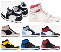 New 1 WMNS Panda Phantom Sail Red Mid Multicolor Neutral Gre...