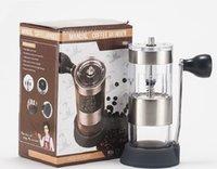 2020 heißen kreative Verkauf Kaffeemühle Haushalt portable Bohneschleifer Mini Kaffeemaschine tragbare Hand Kaffeemaschine