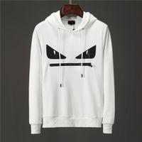 Mens D2 Дизайнер белый Толстовка Толстовка Мужчины Женщины свитер толстовка с длинным рукавом пуловер Марка толстовки Streetwear Мода SweatershirtWY
