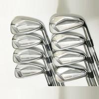 새로운 JPX919 아이언 클럽 3-9.P 골프 아이언 흑연 골프 무료 배송 R 또는 S 플렉스 골프 클럽 샤프트