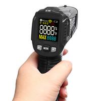 LCD-scherm Digitale Thermometer Handheld Infrarood Thermometer Laserthermometer Hypothermie Pyrometer, -50 ~ 600 graden Celsius (gratis verzending)