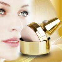La vibración eléctrica del maquillaje de la esponja sopla la batería interna, las esponjas del maquillaje de la belleza de Konjac para compone el aplicador del maquillaje del soplo de la esponja la India