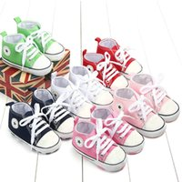 Newborn First Walkers Crib Shoes Soft Bottom Anti- Slip Sole ...