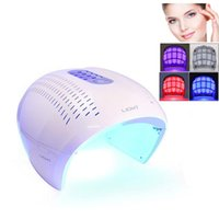 TECH 4 Color LED Color LED Face Mask | Photon Red Light Ther...