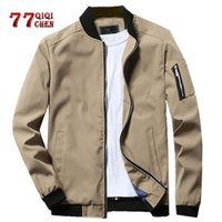 Casual Jacket Men Spring Autumn Streetwear Hip Hop Baseball ...
