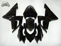 Personnaliser kits carénage chinois pour Kawasaki Ninja ZX10R 2004 2005 ABS route plastique carénages moto noir course ZX10R 04 05 mis ZX 10R