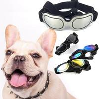 الأزياء كلب الأشعة فوق البنفسجية النظارات الشمسية نظارات الشمس نظارات العين ارتداء حماية ل جرو الصيف يندبروف قابل للتعديل