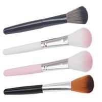 مؤسسة أحمر الخدود ماكياج فرش تمييز فيكس وجه الفرشاة المحمولة أدوات مسحوق فرش التجميل بالجملة أرخص الأسعار نوعية جيدة