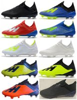 Free Shipping 2018 World Cup Mens FG Soccer Shoes X 18. 1 FG ...