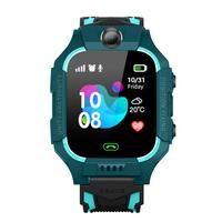 Z6 niños de los niños del reloj inteligente IP67 a prueba de agua profunda 2G tarjeta SIM GPS Rastreador de cámara SOS Llamar Ubicación Recordatorio Anti-Perdida PK Q50 Q12