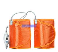 Para pernas única FIR Far Infrared Sauna Blanket perda de peso corpo emagrecimento Blanket raio infravermelho de calor para as pernas única