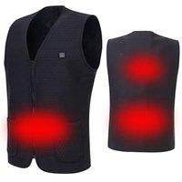 USB Elettrica Warm riscaldata Vest intelligente riscaldamento corre rivestimento del cappotto Ideale per inverno - M